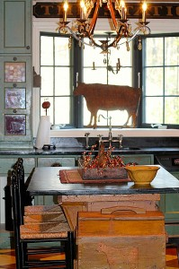 antiques in Renita's kitchen new