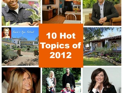 The 10 Hottest Topics on My Blog in 2012