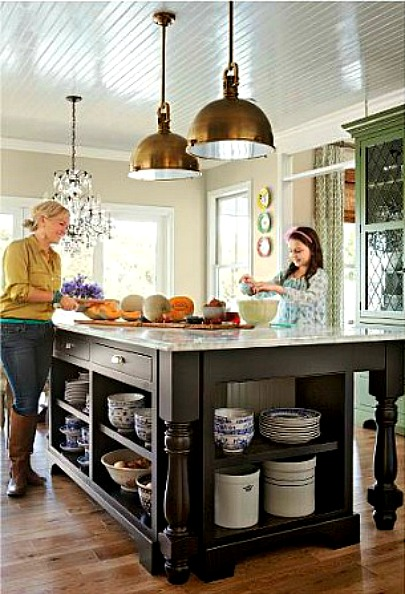 Edie 39 s house in better homes and gardens hooked on houses for House and garden kitchen photos