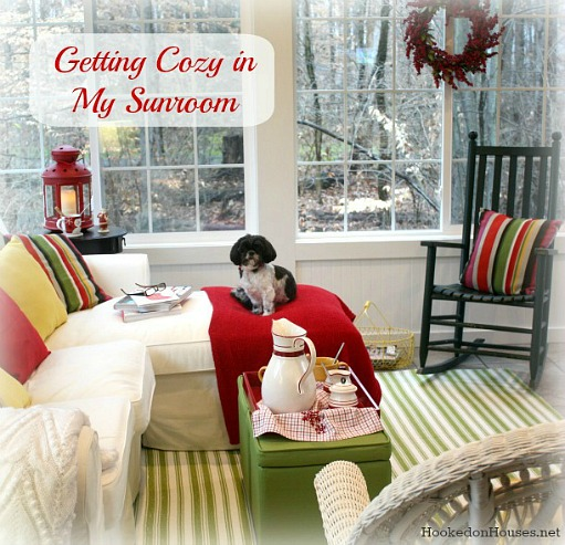 Getting Cozy in My Sunroom Christmas 1212 500