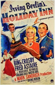 Holiday Inn movie poster Crosby Astaire
