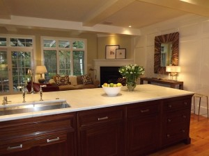 Karen's kitchen island
