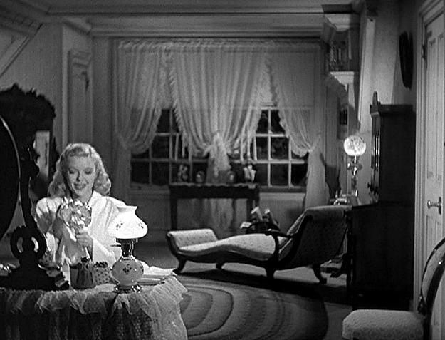 Marjorie Reynolds in bedroom