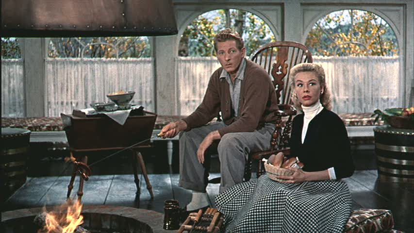 Phil and judy by the fire hooked on houses Classic christmas films black and white