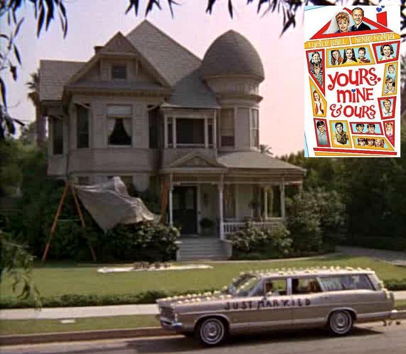 Yours Mine & Ours movie house 346 Markham Pasadena