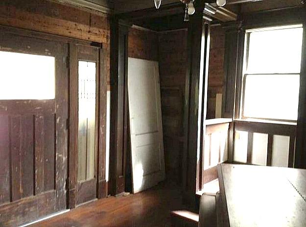 inside house before remodel