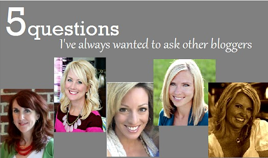 5 Questions 5 bloggers Emily A Clark