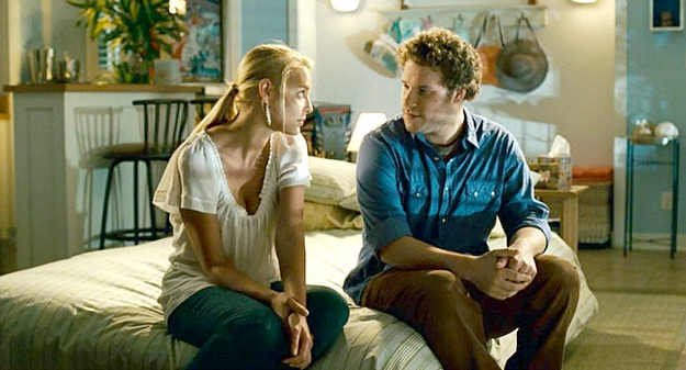 Allison and Ben in Knocked Up pool house