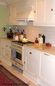Designing Domesticity-Liz's range after reno