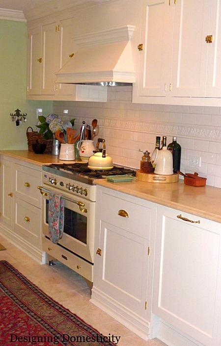 Designing Domesticity-Liz's range after reno