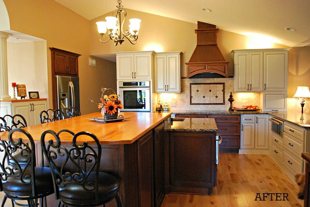 Jill's kitchen after reno