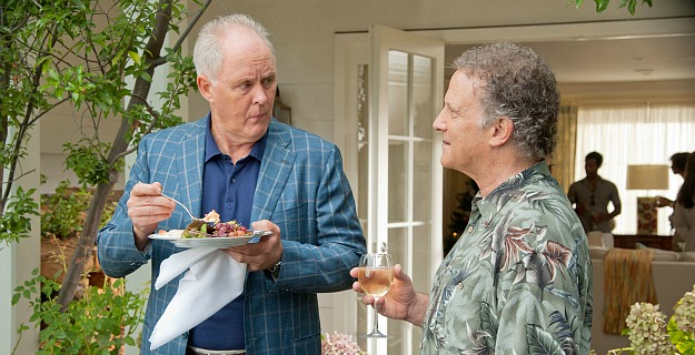 John Lithgow and Albert Brooks in This Is 40 2