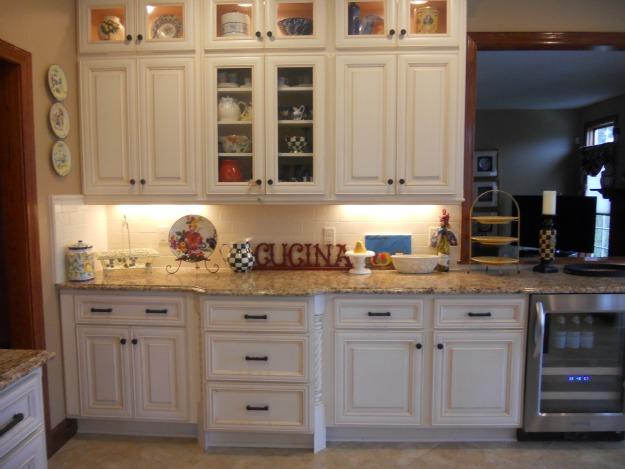 Josie's Italian kitchen after reno cucina