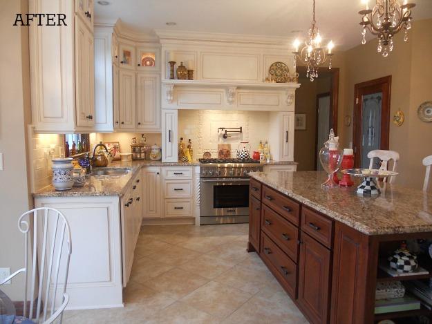 Josie's kitchen after reno 1