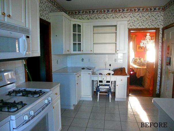 Josie's kitchen before reno