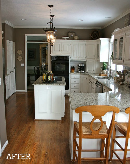 Julie's kitchen after makeover cvr