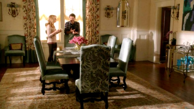 Kennish mansion dining room Switched at Birth 1