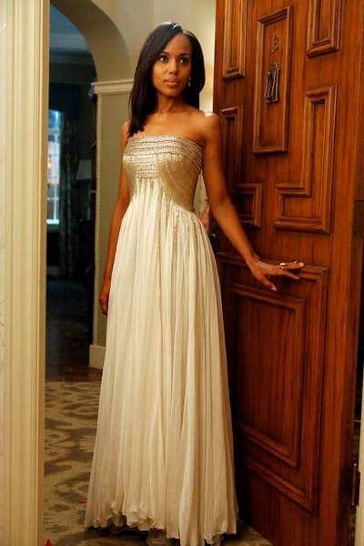 Kerry Washington as Olivia Pope on TV show Scandal