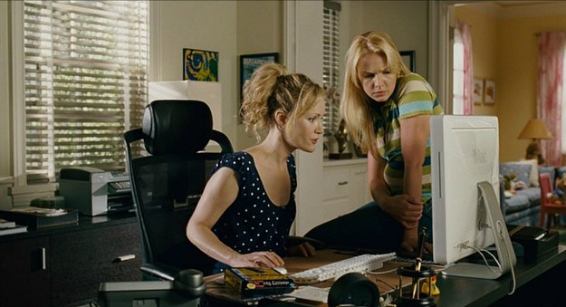 Knocked Up-Debbie's home office
