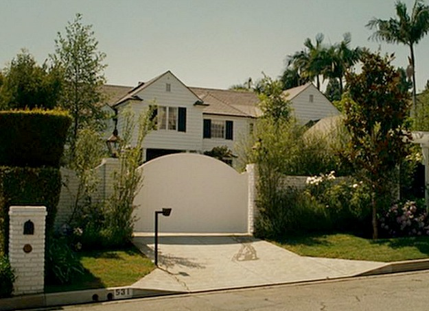 Knocked Up movie house front gate