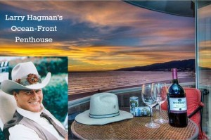 Larry Hagman's ocean front penthouse condo listing
