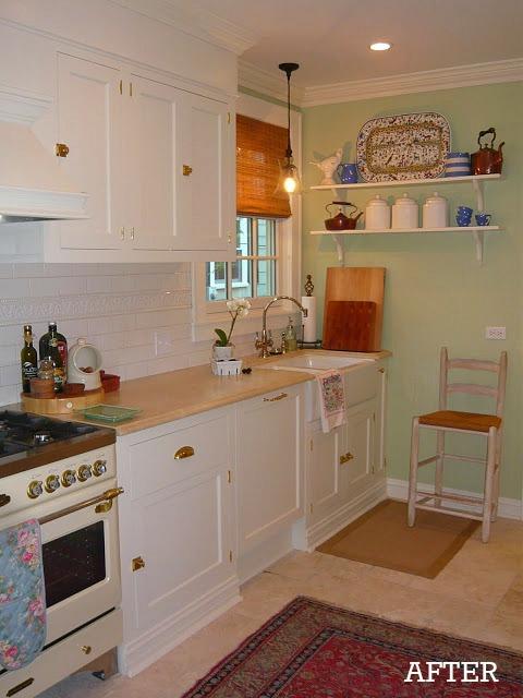 Liz's kitchen after reno 2