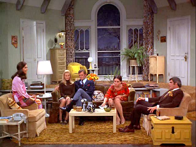 Mary Tyler Moore Show apartment set