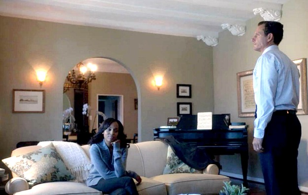 Olivia Pope's apartment on Scandal-living room 5