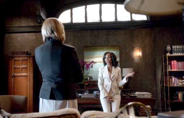 Olivia Pope's office on Scandal TV show