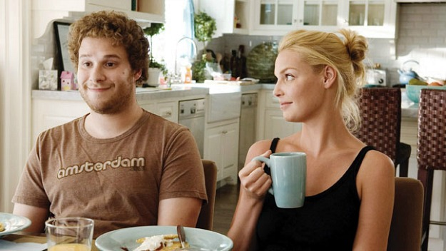 Seth Rogen Katherine Heigle Knocked Up kitchen