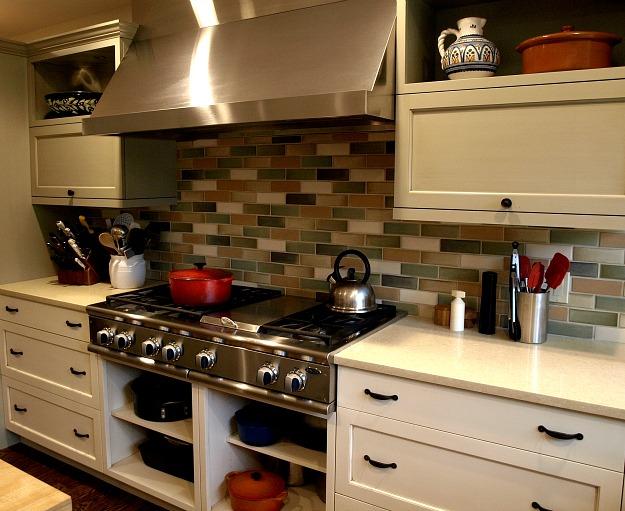 Shawn's kitchen after reno-range