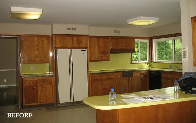 Shawn's kitchen before reno