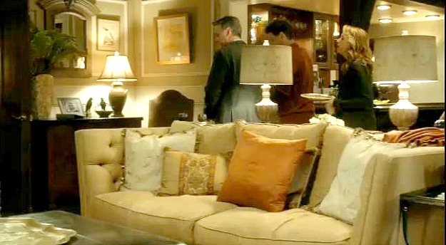 Switched at birth house-living room sofa