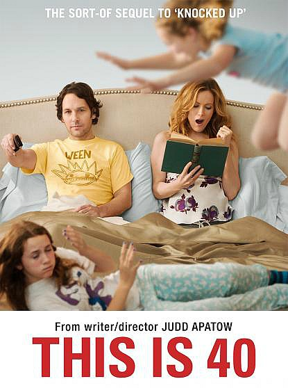 This is 40 movie poster Judd Apatow