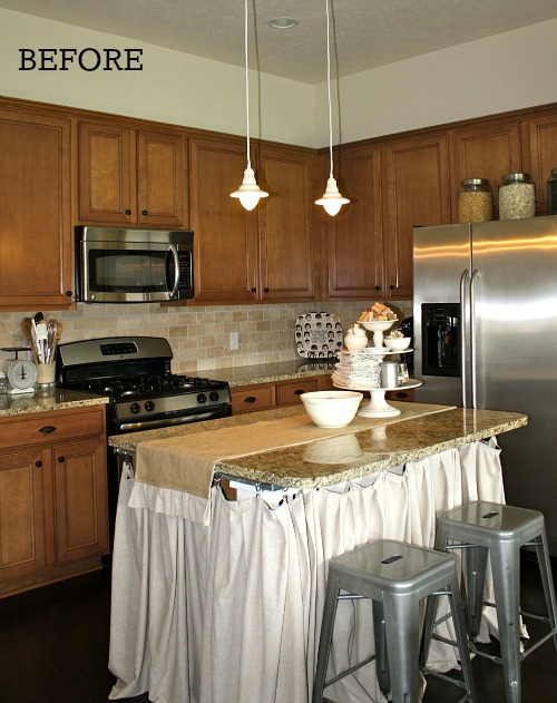 Before & After: Tricia Gives Her Kitchen Some Cottage Style ...