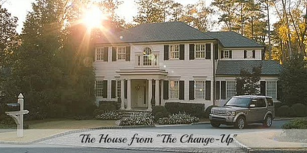house from movie The Change-Up Jason Bateman