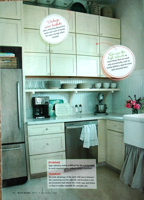 kitchens magazine page