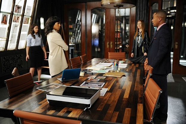 office set on TV show Scandal 3