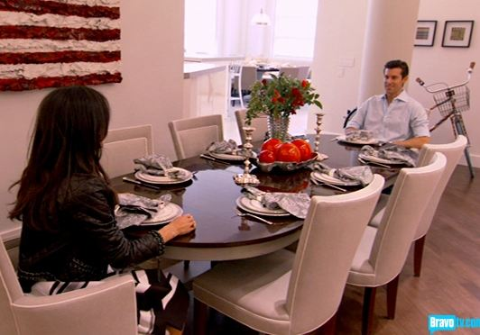 Bethenny Frankel and Jason Hoppy Bravo TV-new dining