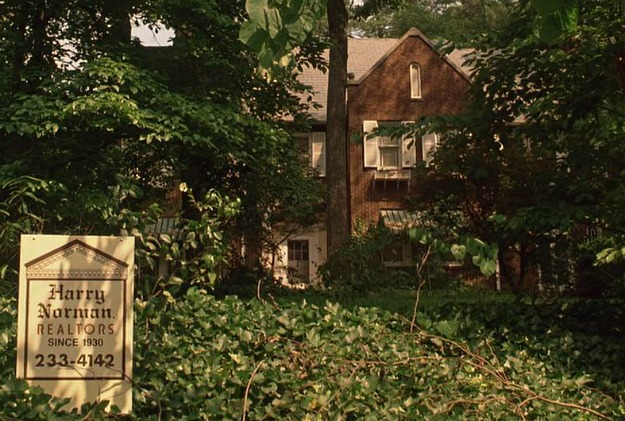 Driving Miss Daisy movie house for sale sign (22)