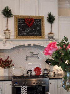 Julie's kitchen-Valentine's Day