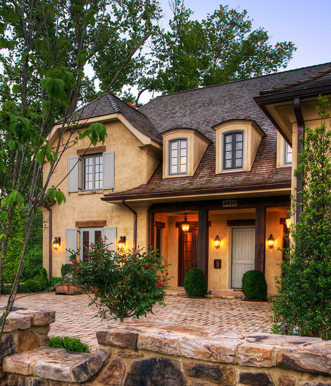 The Country Cottage Style For Home Inspiration By Kimberly: A New House Inspired By Old French Country Cottages
