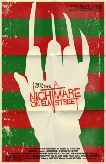 Nightmare on Elm Street vintage poster
