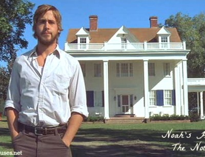 """The Houses and Filming Locations from the Movie """"The Notebook"""""""