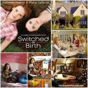 collage of photos from Switched at Birth TV show and series logo inset