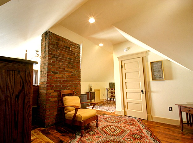 tiny attic space ideas - Bye Bye Bats Finishing an Old Farmhouse Attic Hooked
