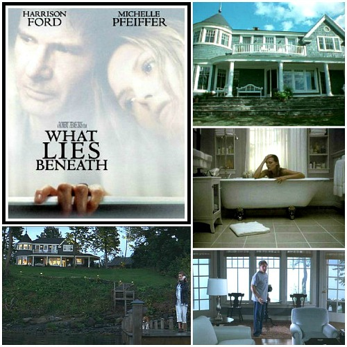 What Lies Beneath movie house poster collage