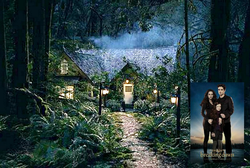 Bella and Edward's Cottage Twilight Breaking Dawn feat