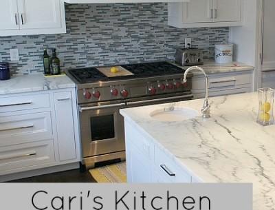 Cari's Newly Remodeled Kitchen (& Baths!)