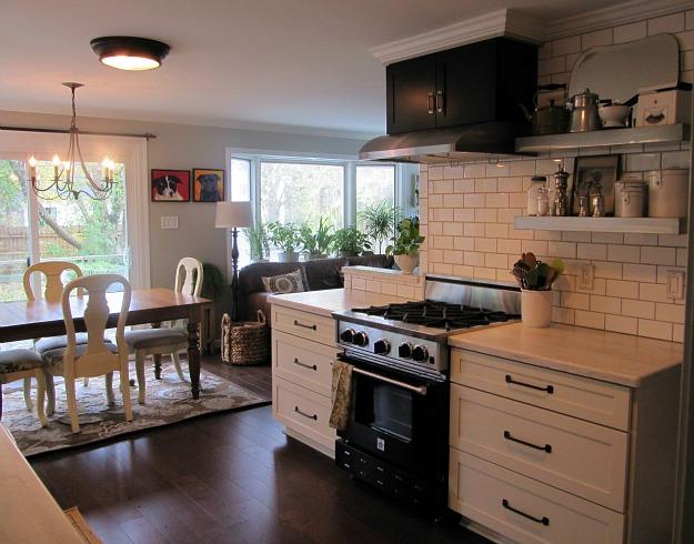 Joyce S Black And White Kitchen 1